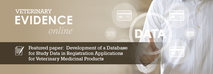 Development of a Database for Study Data in Registration Applications for Veterinary Medicinal Products