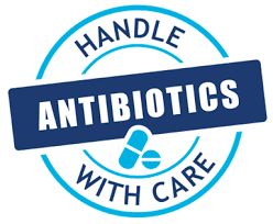 Handle antibiotics with care