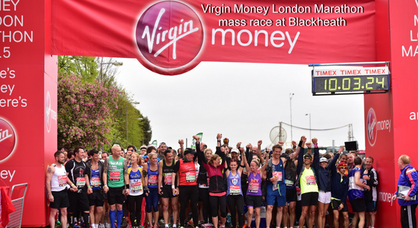 Virgin Money London marathon runners