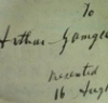 Carlo Ruini anatomy of the horse, inscription inside showing it once belonged to Arthur Gamgee