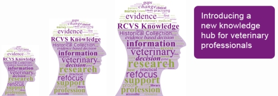 RCVS Knowledge banner