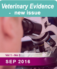 Veterinary Evidence Latest Issue