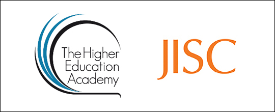 HEA and JISC logos