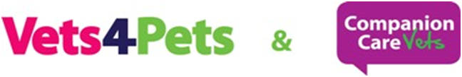 Vets4Pets and Companion Care Vets logo