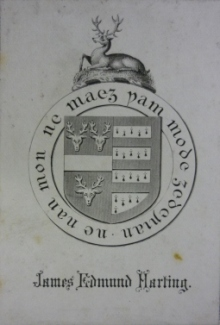 James Harting bookplate
