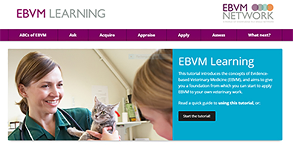 EBVM Learning homepage