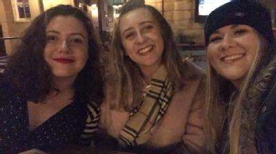 Carla Husband, Lauren Sweeney and Abbie McMillan