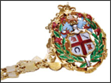 RCVS presidential badge