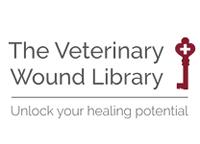 Vet wound library logo